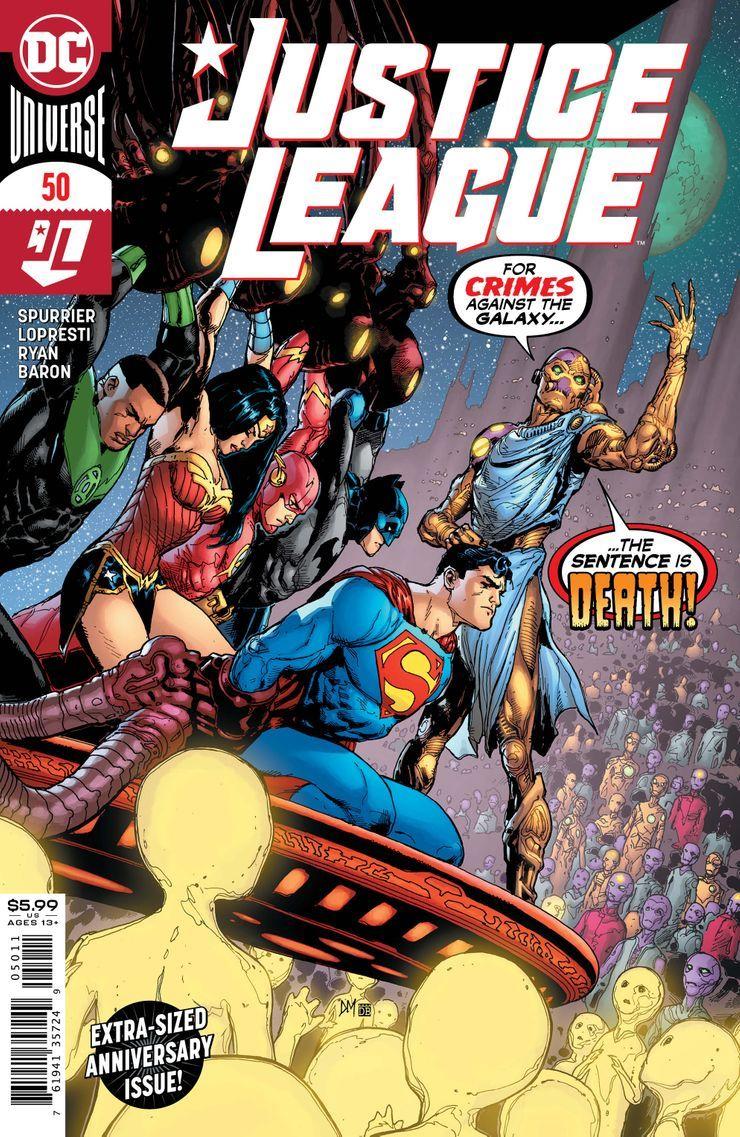 JUSTL-Cv50 ComicList Previews: JUSTICE LEAGUE #50