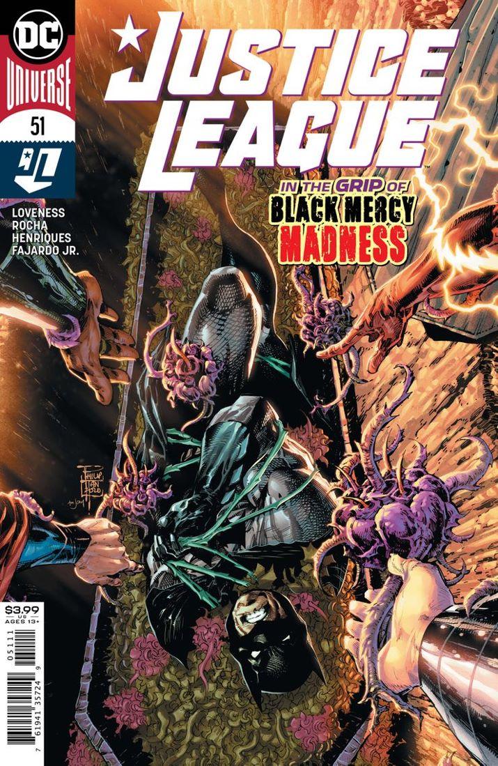 JUSTL-Cv51 ComicList Previews: JUSTICE LEAGUE #51
