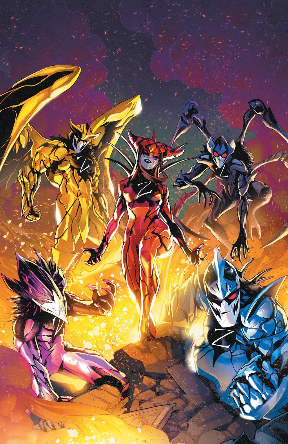 MMPR_053_Cover_Variant ComicList: BOOM! Studios New Releases for 08/26/2020