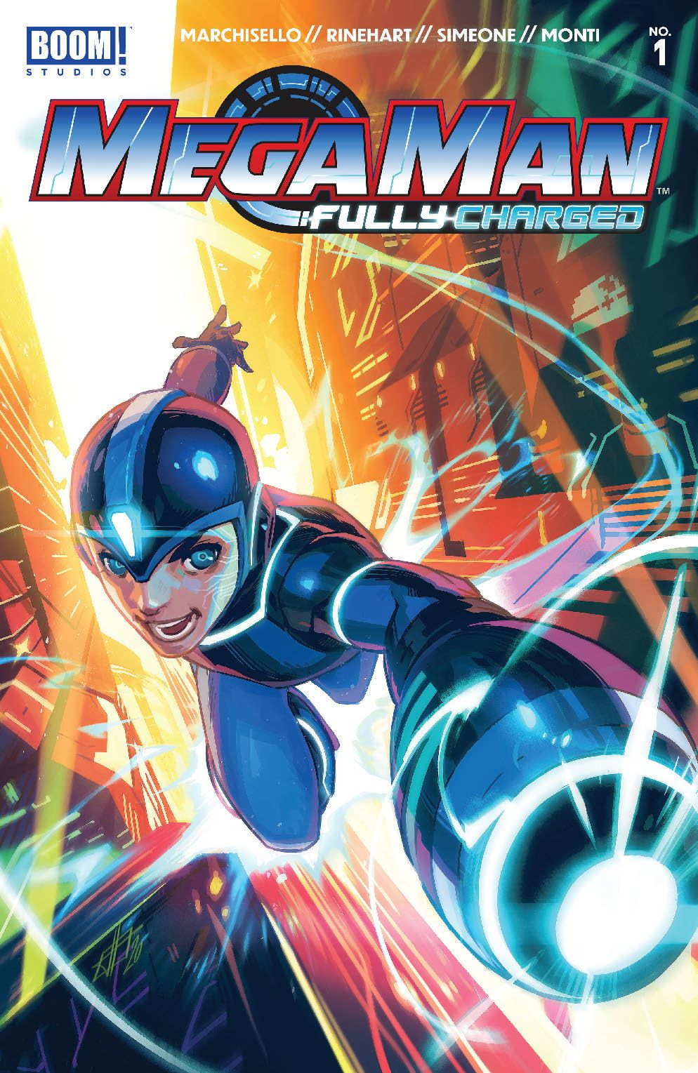 MegaMan_FullyCharged_001_Cover_Main ComicList: BOOM! Studios New Releases for 08/26/2020