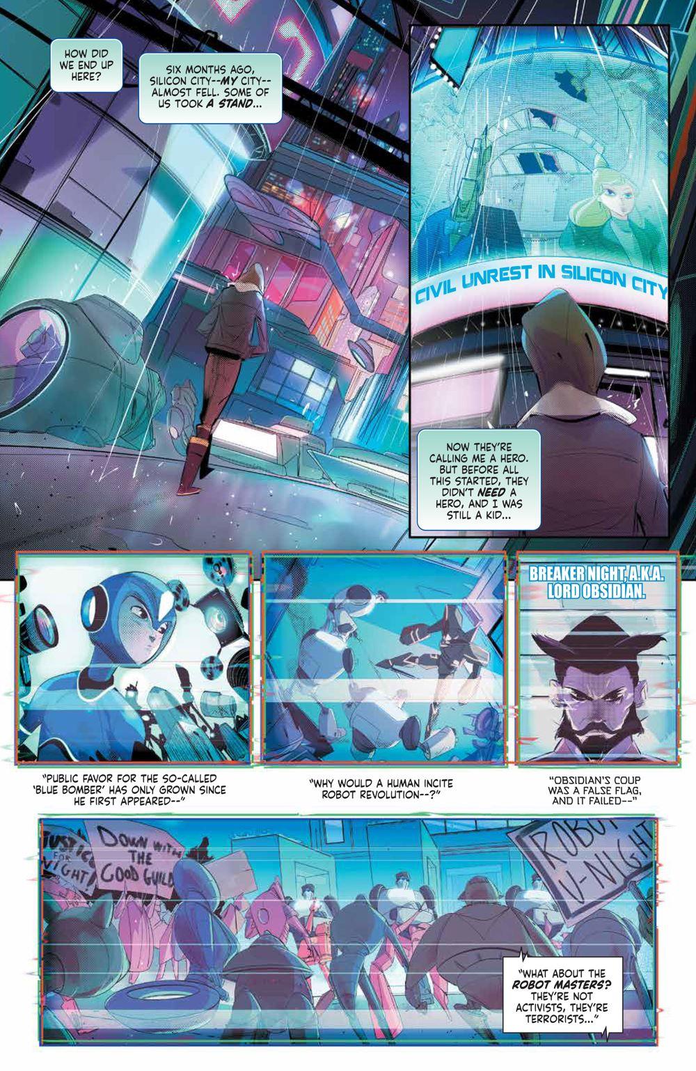 MegaMan_FullyCharged_001_PRESS_3 ComicList Previews: MEGA MAN FULLY CHARGED #1
