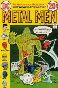 Metal-Men-199x300 A Collector's Journey - Getting Started