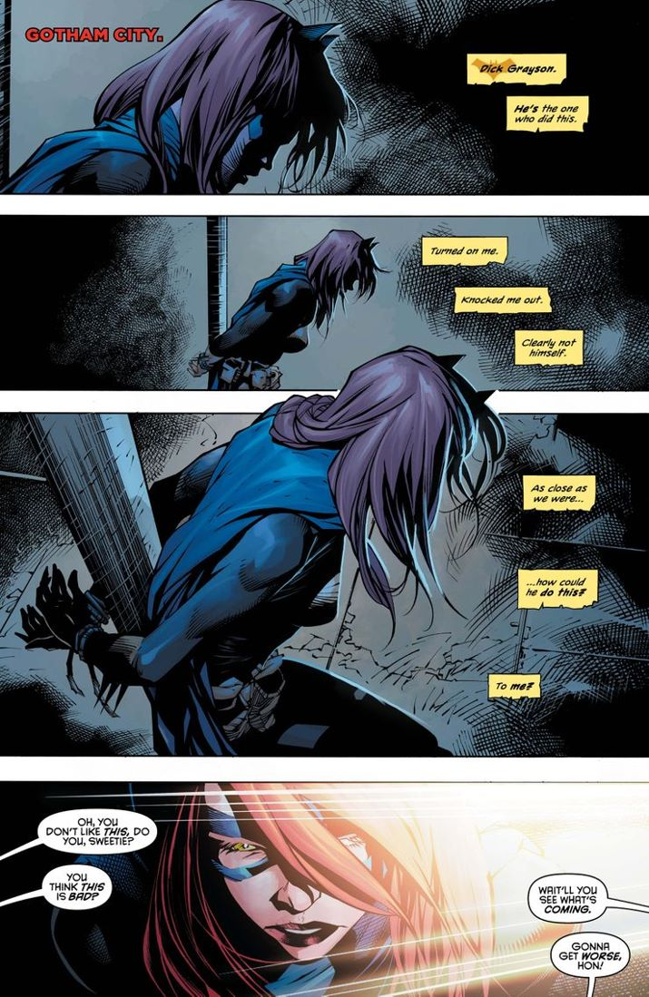NW-73-1 ComicList Previews: NIGHTWING #73