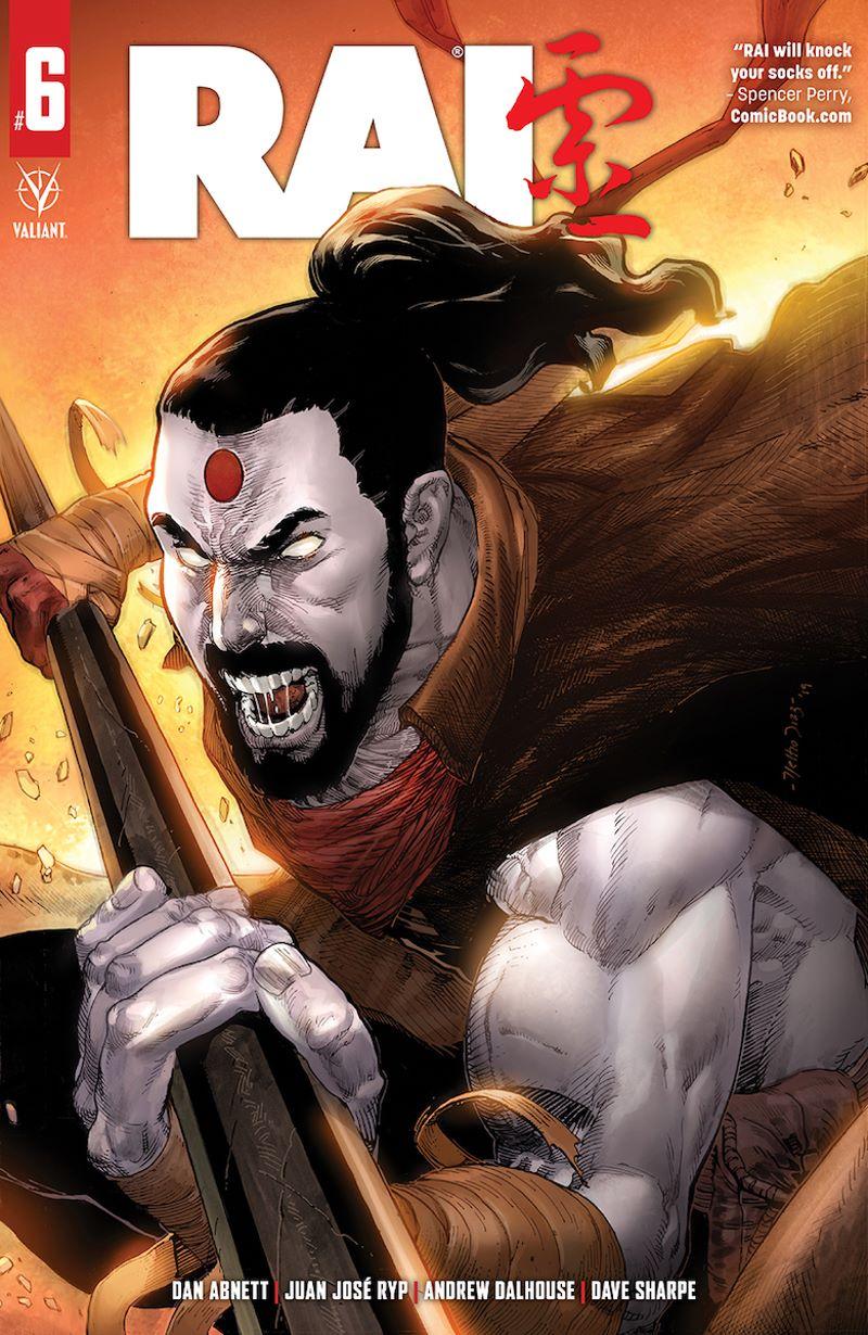 RAI_06_CoverA ComicList Previews: RAI #6