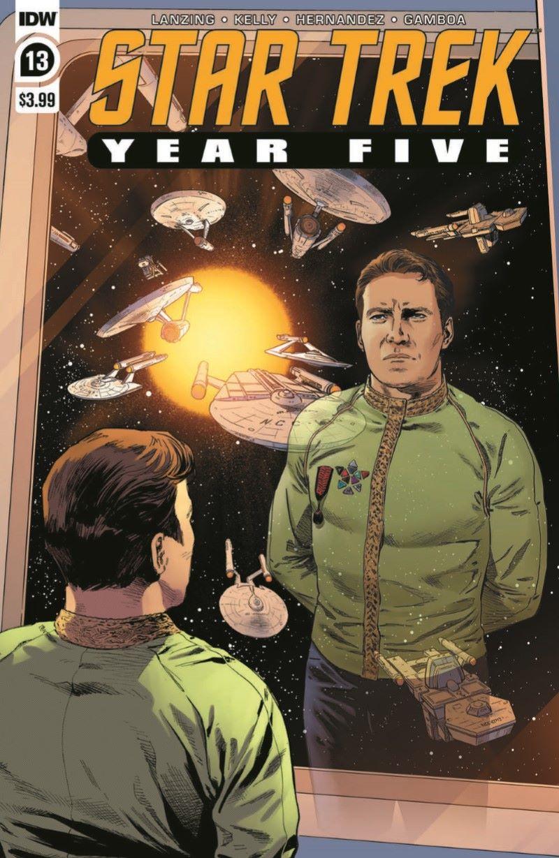 ST_YearFive13-pr-1 ComicList Previews: STAR TREK YEAR FIVE #13
