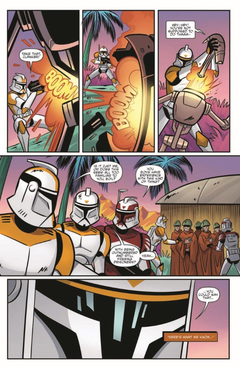 SWCloneWars-03-pr-5 ComicList Previews: STAR WARS ADVENTURES THE CLONE WARS BATTLE TALES #3
