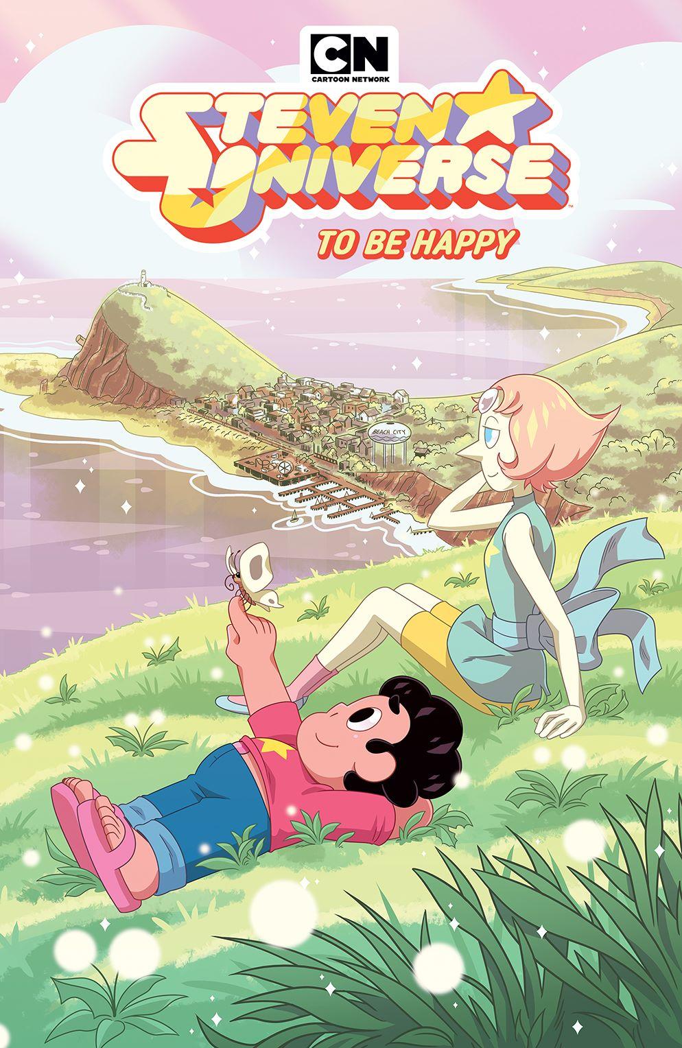 StevenUniverse_v8_SC_Cover ComicList Previews: STEVEN UNIVERSE VOLUME 8 TO BE HAPPY TP