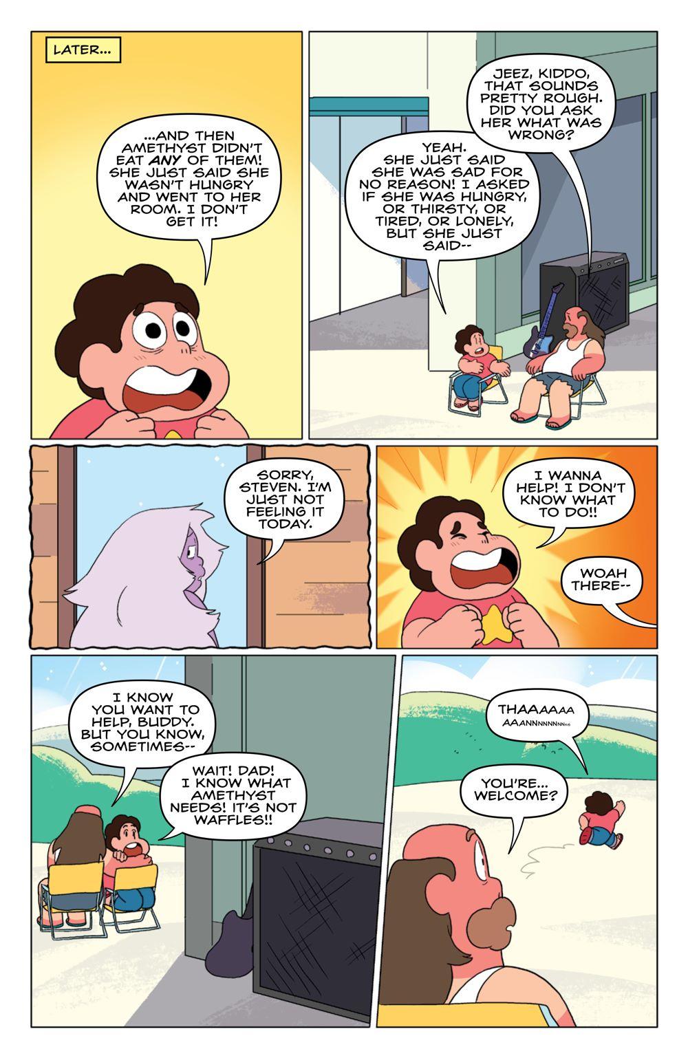 StevenUniverse_v8_SC_PRESS_12 ComicList Previews: STEVEN UNIVERSE VOLUME 8 TO BE HAPPY TP