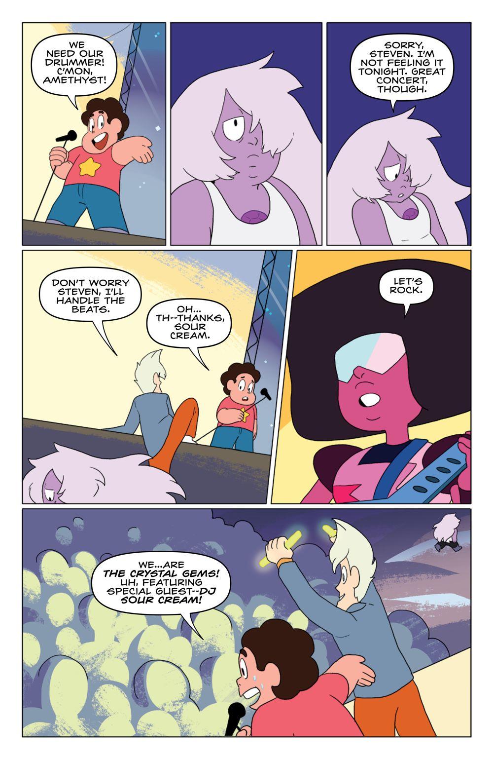 StevenUniverse_v8_SC_PRESS_16 ComicList Previews: STEVEN UNIVERSE VOLUME 8 TO BE HAPPY TP