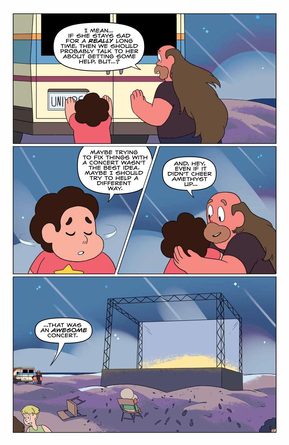 StevenUniverse_v8_SC_PRESS_20 ComicList Previews: STEVEN UNIVERSE VOLUME 8 TO BE HAPPY TP