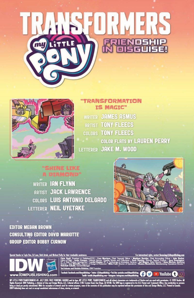 TFMLP01-pr-2 ComicList Previews: MY LITTLE PONY TRANSFORMERS #1