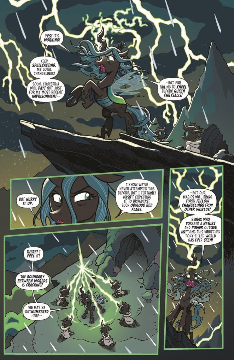 TFMLP01-pr-4 ComicList Previews: MY LITTLE PONY TRANSFORMERS #1