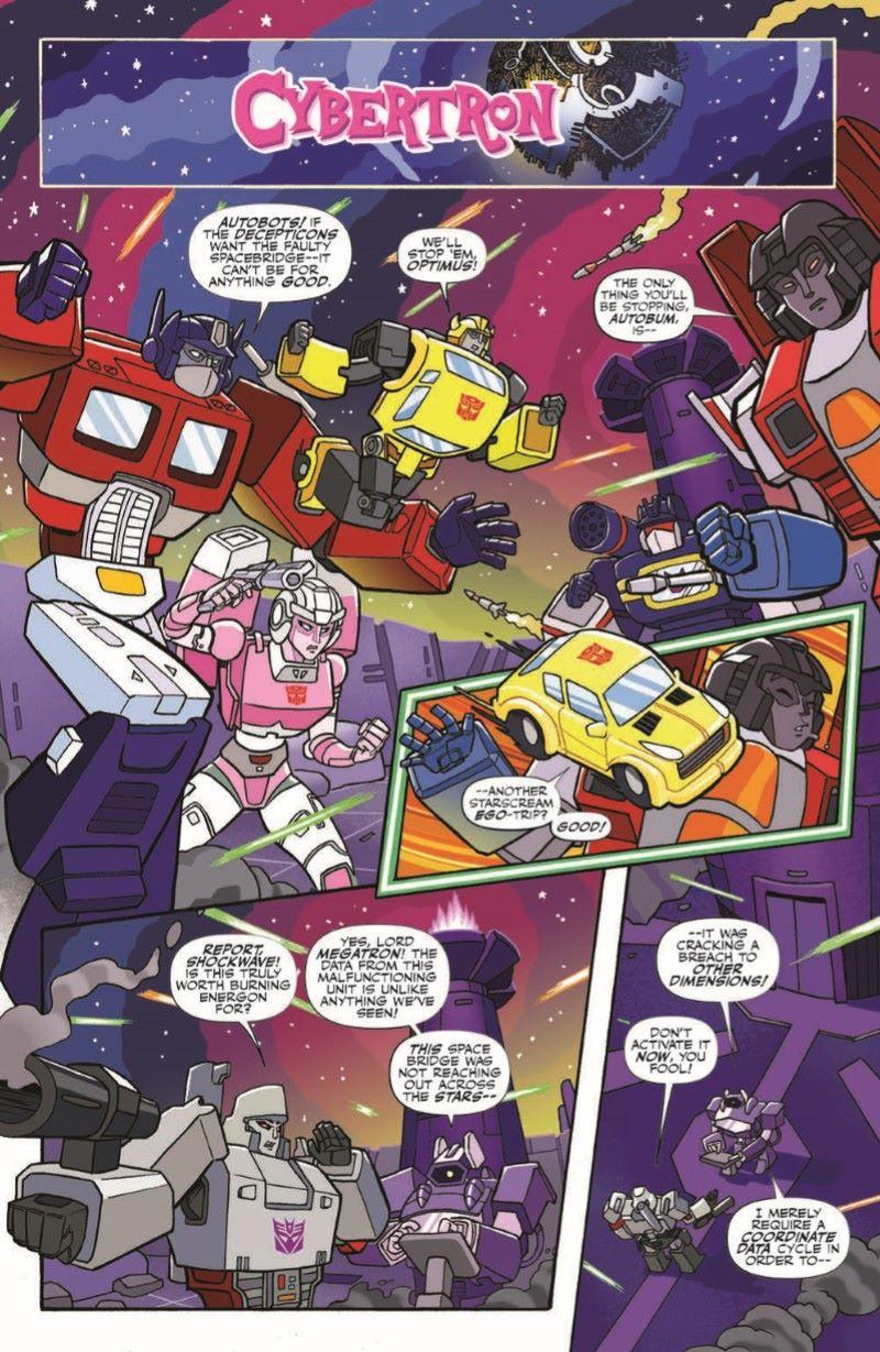 TFMLP01-pr-5 ComicList Previews: MY LITTLE PONY TRANSFORMERS #1