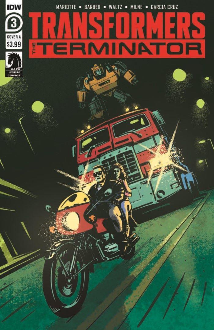 TFvTerminator-03-pr-1 ComicList Previews: TRANSFORMERS VS THE TERMINATOR #3