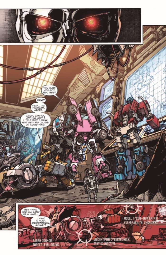TFvTerminator-03-pr-3 ComicList Previews: TRANSFORMERS VS THE TERMINATOR #3