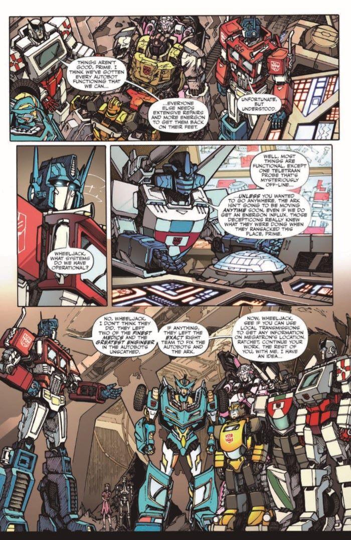 TFvTerminator-03-pr-5 ComicList Previews: TRANSFORMERS VS THE TERMINATOR #3