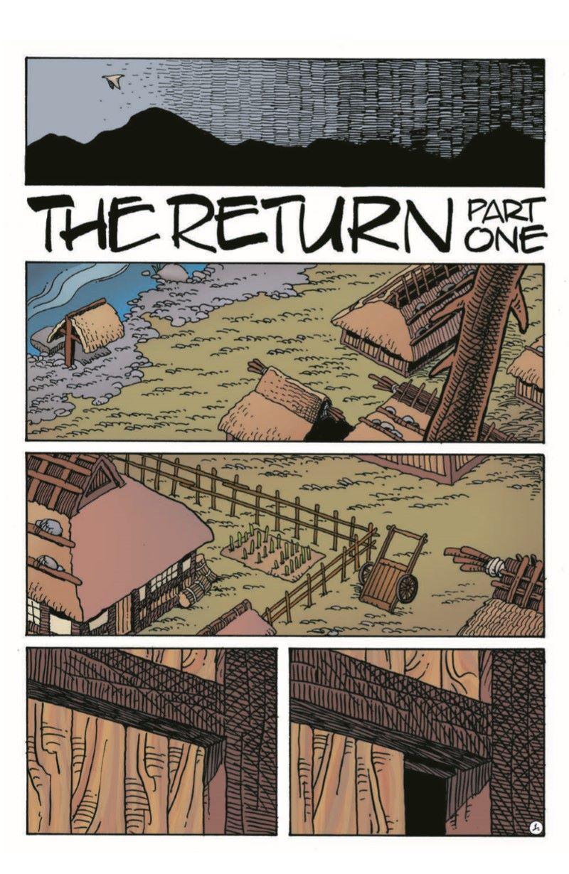 Usagi11_pr-3 ComicList Previews: USAGI YOJIMBO #11