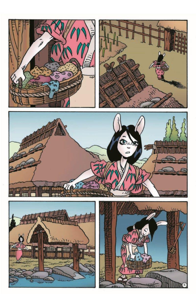 Usagi11_pr-4 ComicList Previews: USAGI YOJIMBO #11