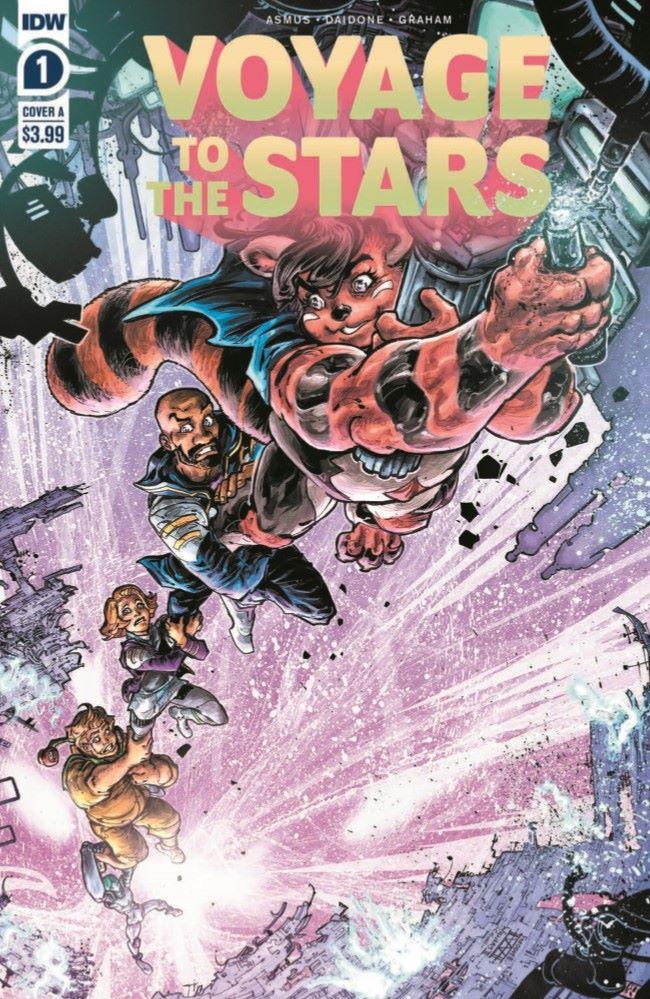 VoyageToTheStars_01-pr-1 ComicList Previews: VOYAGE TO THE STARS #1