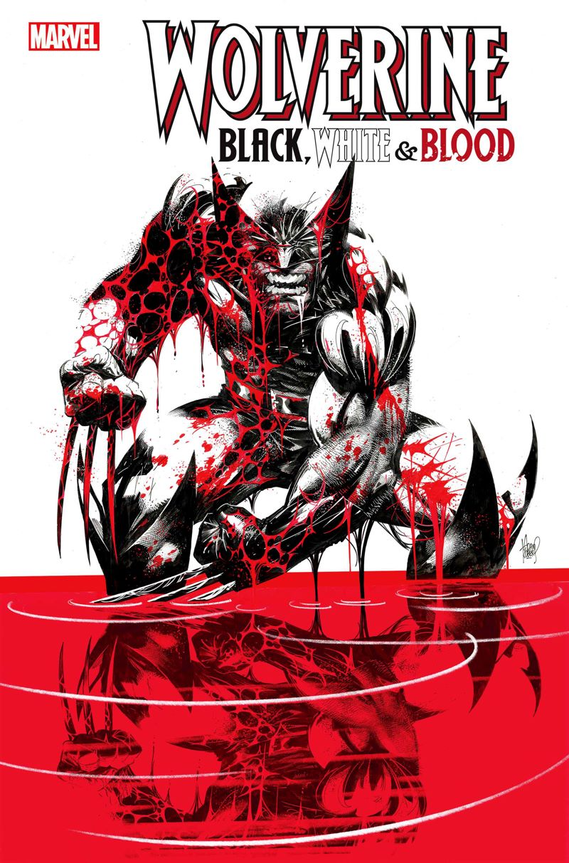 WOLVBLKWHBL2020001 The finest creators are enlisted for WOLVERINE IN BLACK, WHITE AND BLOOD