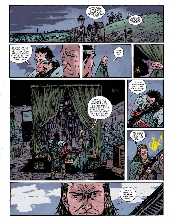 WW-DE-4-4 ComicList Previews: WONDER WOMAN DEAD EARTH #4