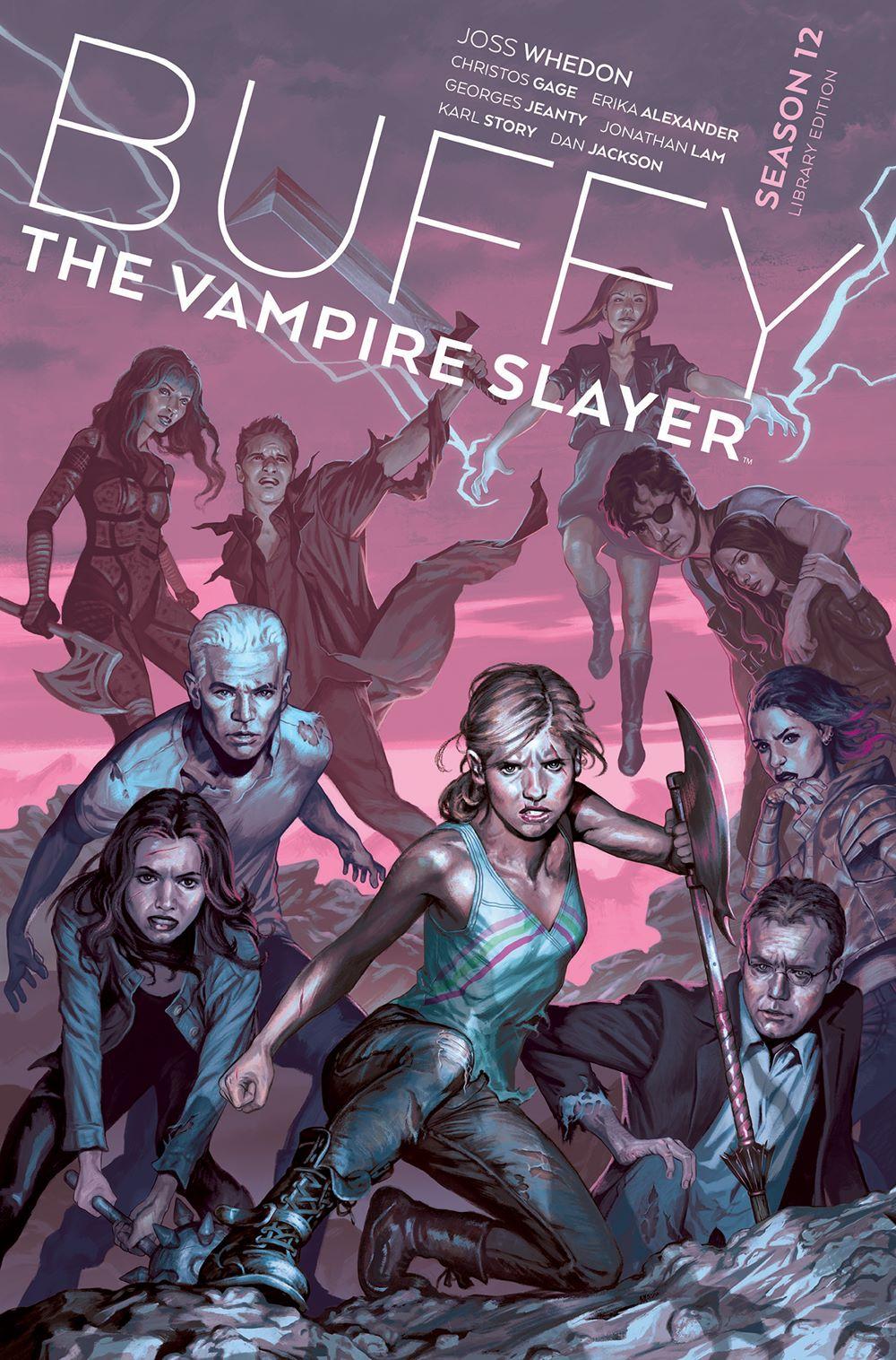 Buffy_Season12_HC_Cover ComicList Previews: BUFFY THE VAMPIRE SLAYER SEASON 12 LIBRARY EDITION VOLUME 1 HC