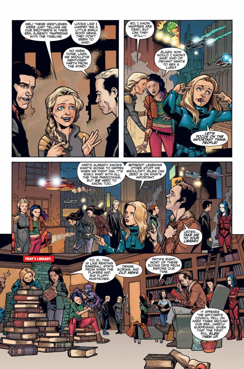 Buffy_Season12_HC_PRESS_139 ComicList Previews: BUFFY THE VAMPIRE SLAYER SEASON 12 LIBRARY EDITION VOLUME 1 HC