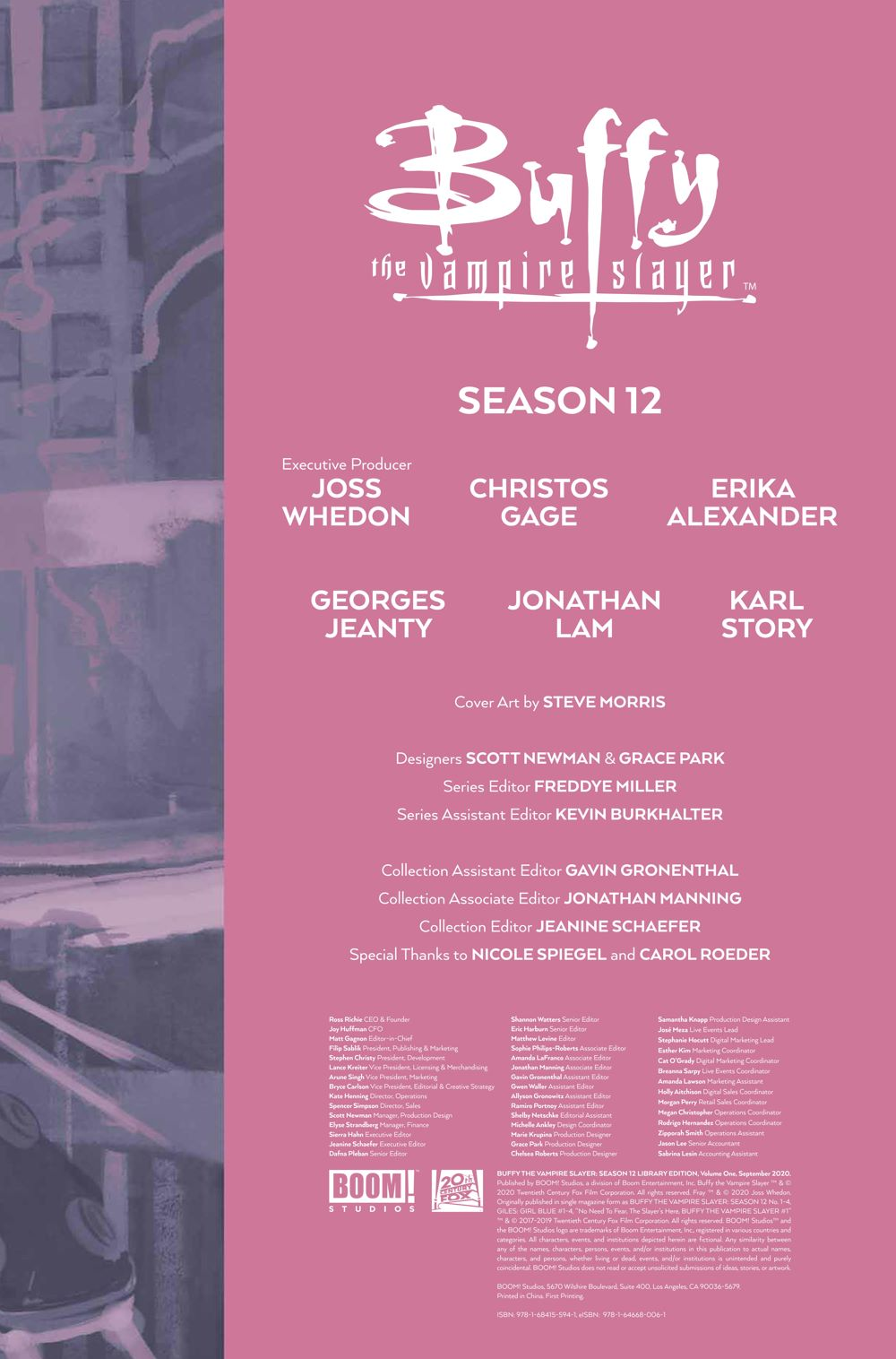 Buffy_Season12_HC_PRESS_7 ComicList Previews: BUFFY THE VAMPIRE SLAYER SEASON 12 LIBRARY EDITION VOLUME 1 HC