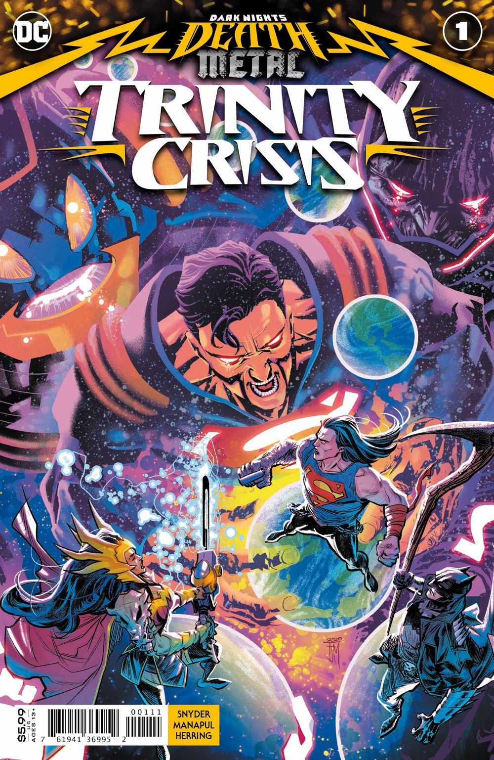 DNDM-TC-Cv1 ComicList Previews: DARK NIGHTS DEATH METAL TRINITY CRISIS #1