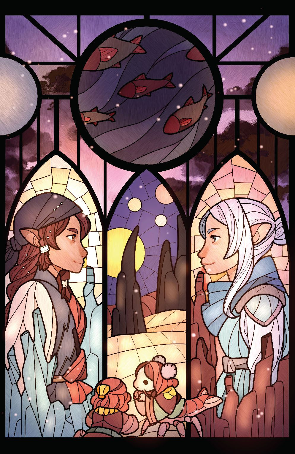 DarkCrystal_AgeResistance_011_Cover_ConnectingVariant ComicList Previews: JIM HENSON'S THE DARK CRYSTAL AGE OF RESISTANCE #11