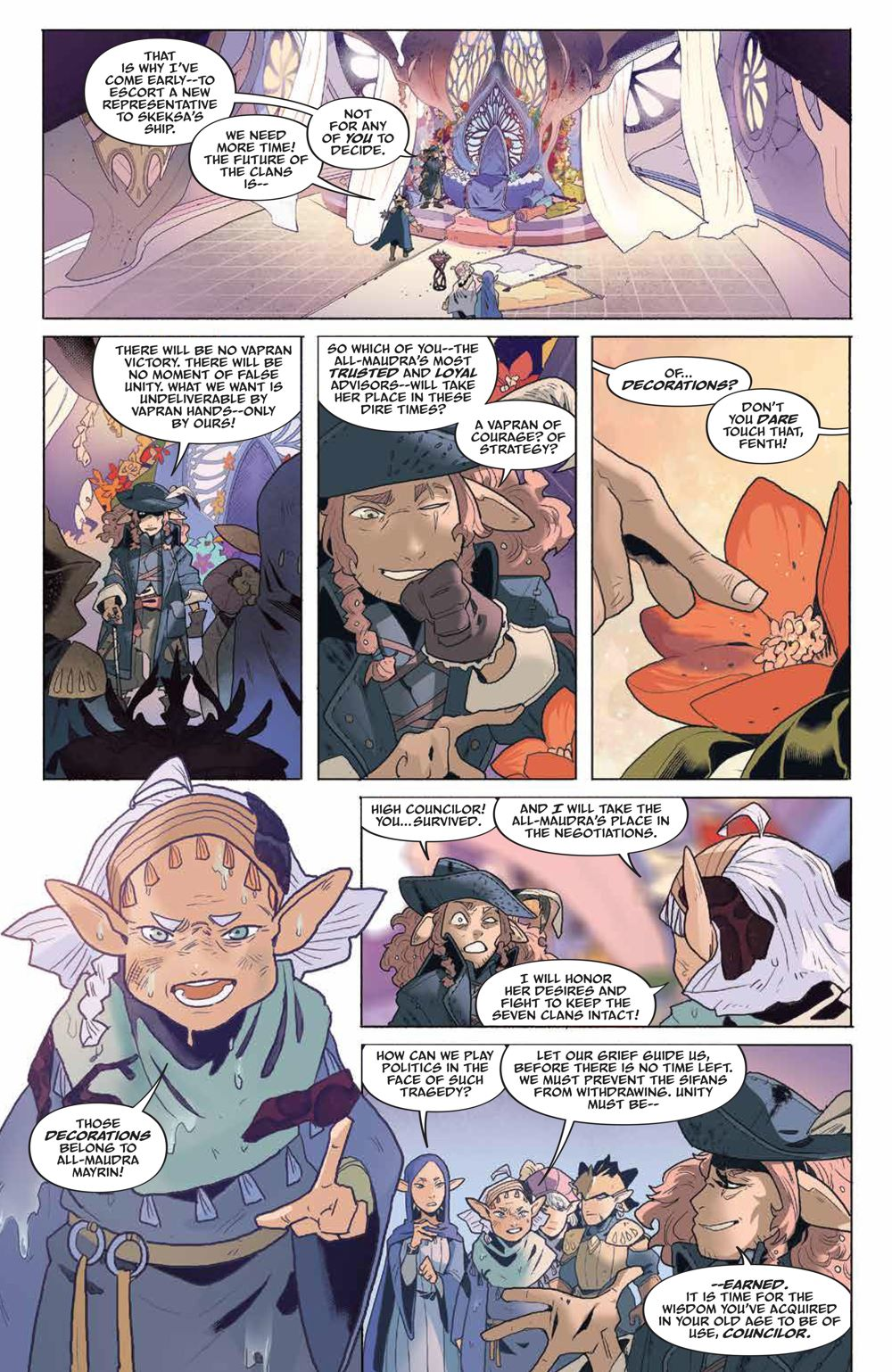 DarkCrystal_AgeResistance_011_PRESS_5 ComicList Previews: JIM HENSON'S THE DARK CRYSTAL AGE OF RESISTANCE #11