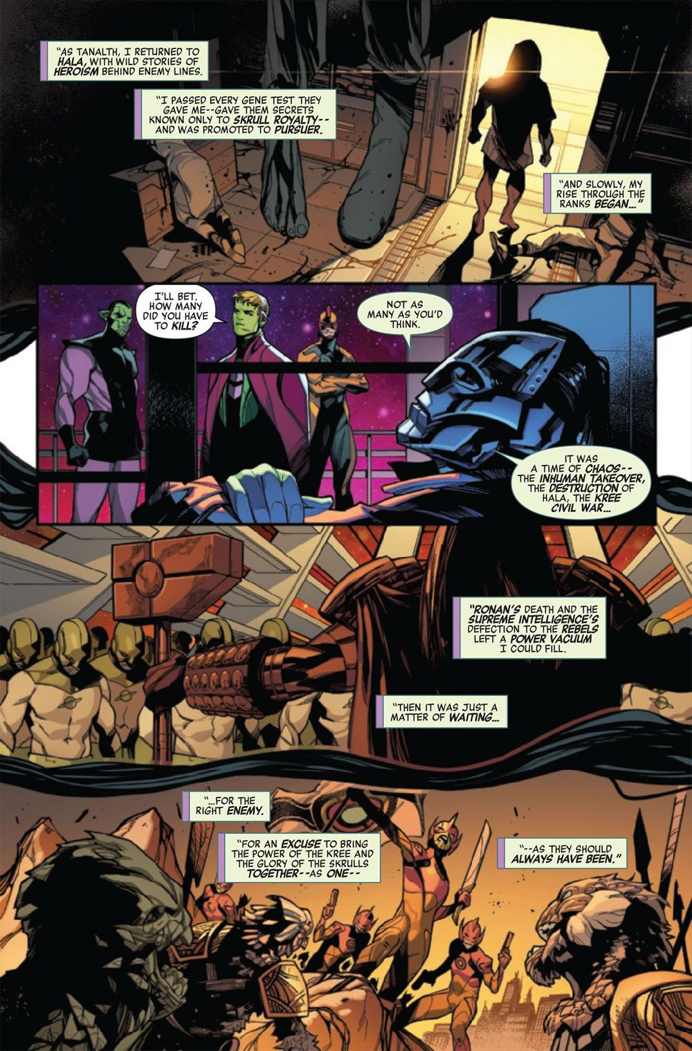EMPYREAFTERAVEN2020001-Preview-5-1 ComicList Previews: EMPYRE AFTERMATH AVENGERS #1