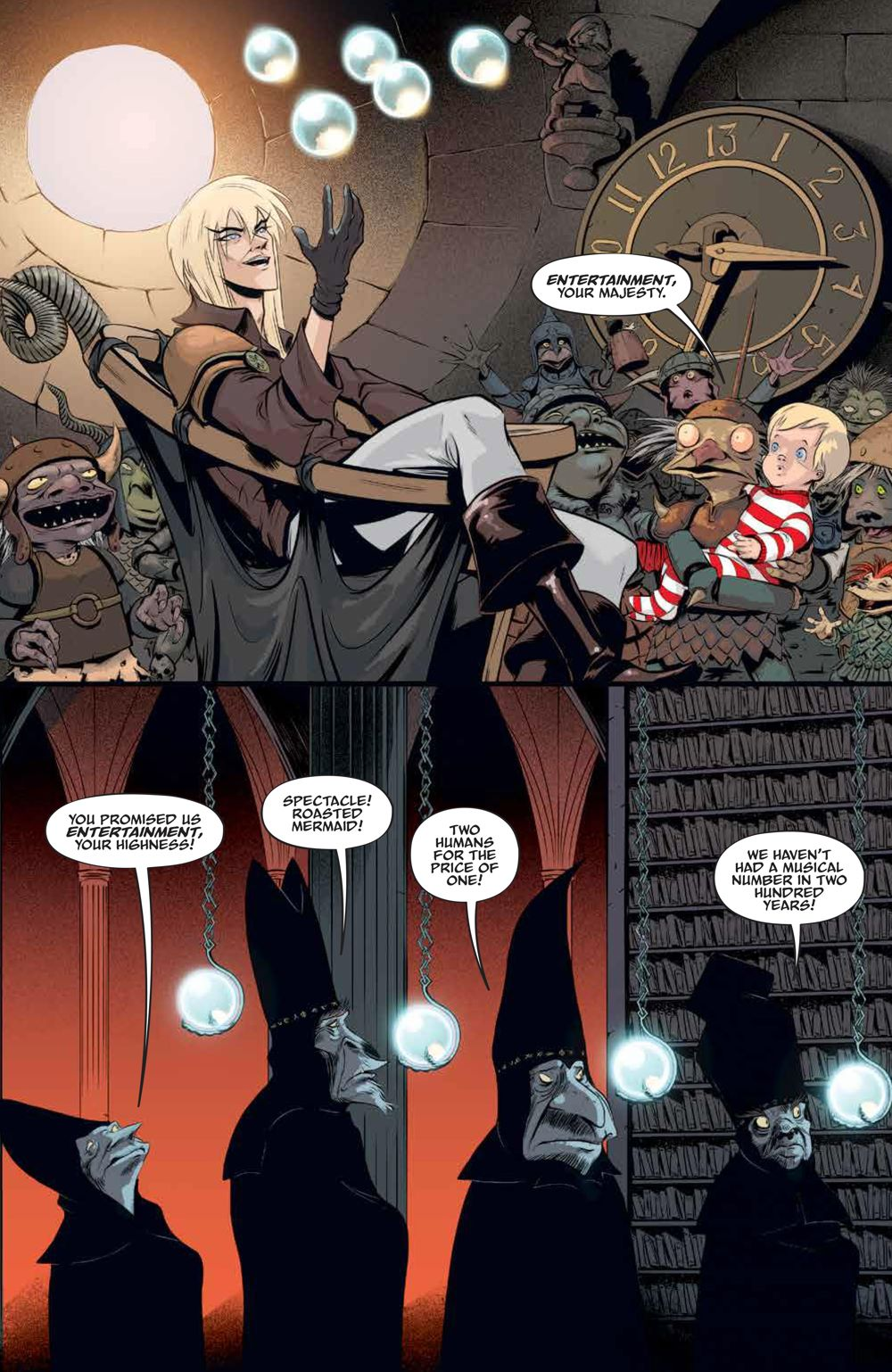 LabyrinthCoronation_v2_SC_PRESS_10 ComicList Previews: JIM HENSON'S LABYRINTH CORONATION VOLUME 2 TP