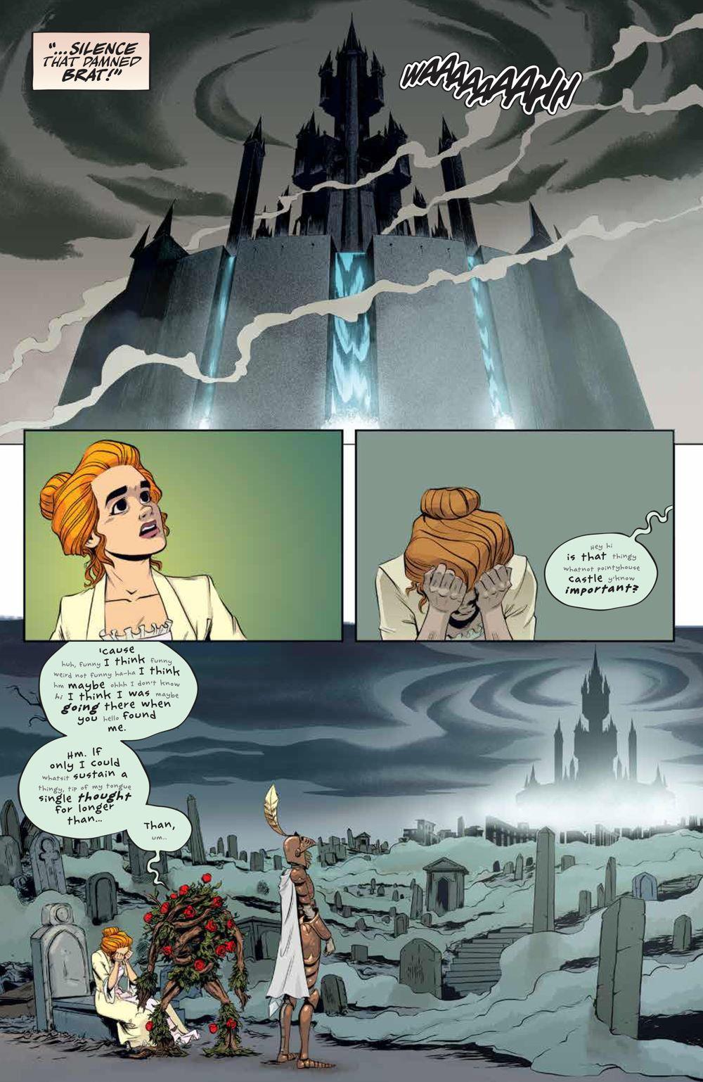 LabyrinthCoronation_v2_SC_PRESS_14 ComicList Previews: JIM HENSON'S LABYRINTH CORONATION VOLUME 2 TP