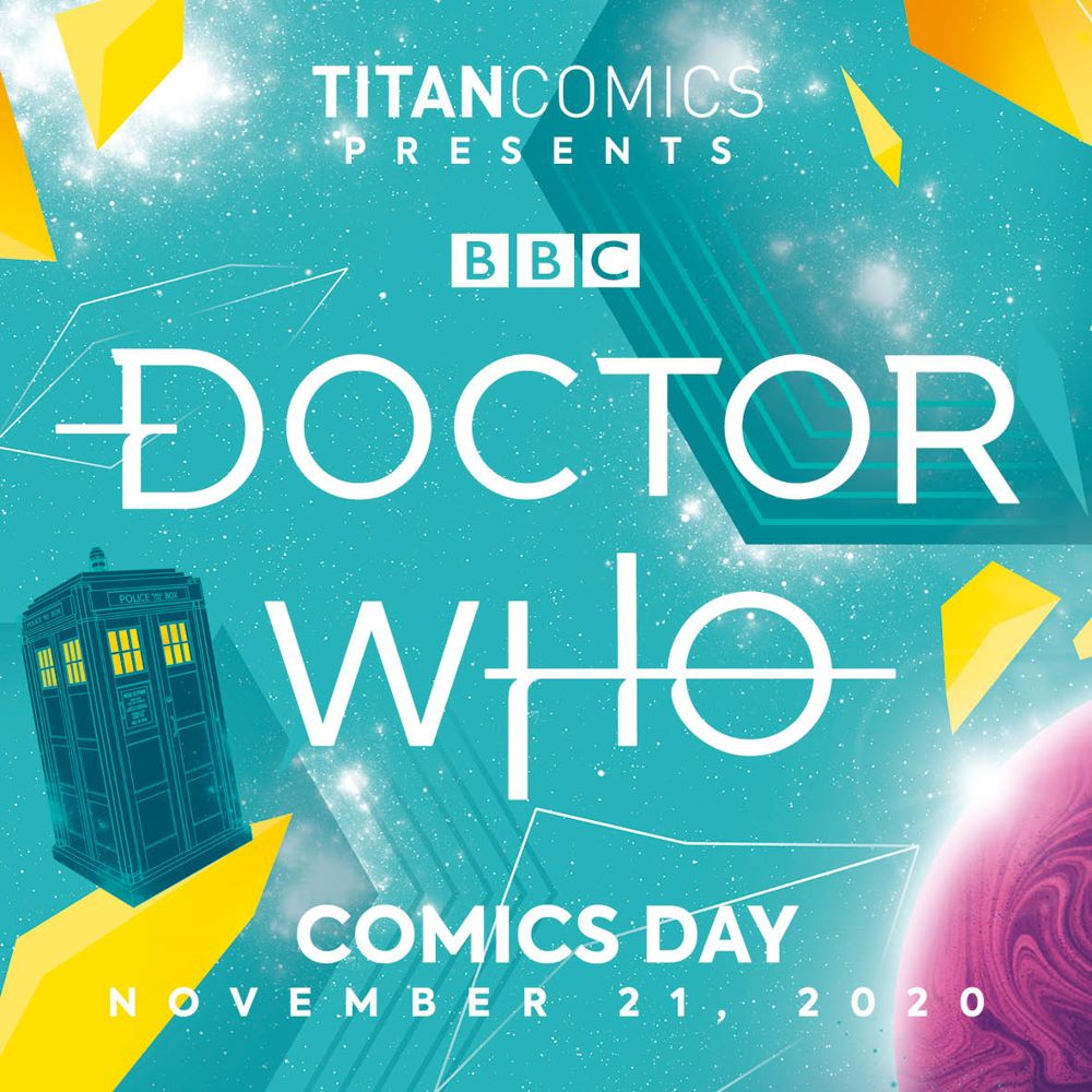 c75ef436-7861-4e56-8b1a-b590405fa6b4 Celebrate DOCTOR WHO COMICS DAY 2020 with a new collection and new series