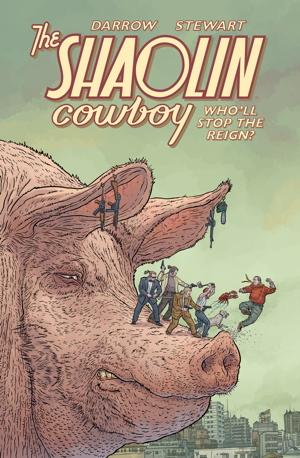shaolincow Dark Horse's SHAOLIN COWBOY: SHEMP BUFFET rescheduled for 2021