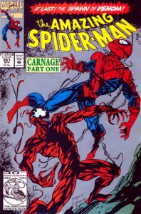 ASM-361-second-print-198x300 Coldest Comics: the Symbiotes Get the Cold Shoulder