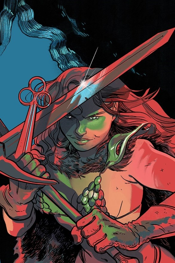 RedSonja-19-19031-C-Henderson Mark Russell's RED SONJA adds Alessandro Miracolo to the team
