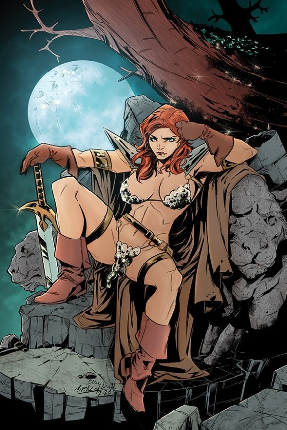 RedSonja-19-19041-D-Miracolo Mark Russell's RED SONJA adds Alessandro Miracolo to the team