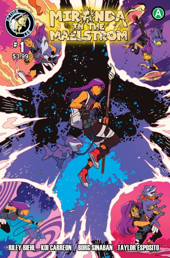 Miranda-in-the-Maelstrom-1-Cover Action Lab Entertainment September 2020 Solicitations