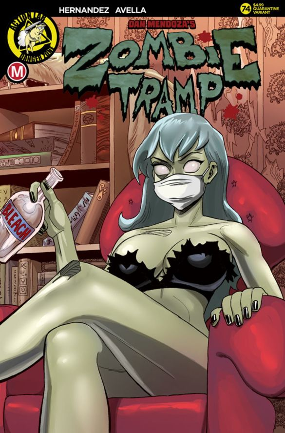 ZombieTramp_issue74_coverC_solicit Action Lab Entertainment September 2020 Solicitations