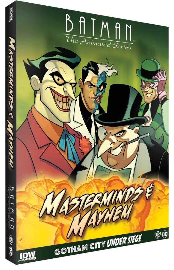 BatmanAnimated-MMExpansion_BoxMock IDW Publishing November 2020 Solicitations