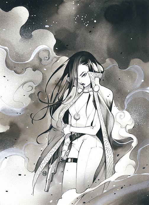 BatmanBW_Variant_Momoko DC Comics December 2020 Solicitations
