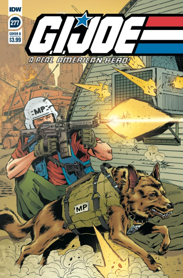 GIJoeRAH277-coverB IDW Publishing November 2020 Solicitations