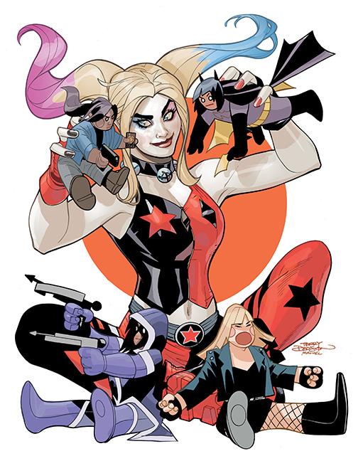 HarleyQuinnBirdsPrey004_variant DC Comics December 2020 Solicitations