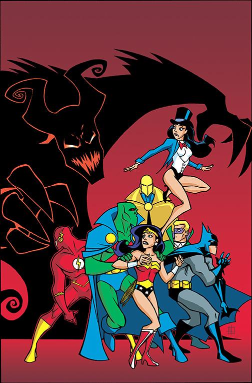 JLU-HOCUS-POCUS DC Comics December 2020 Solicitations