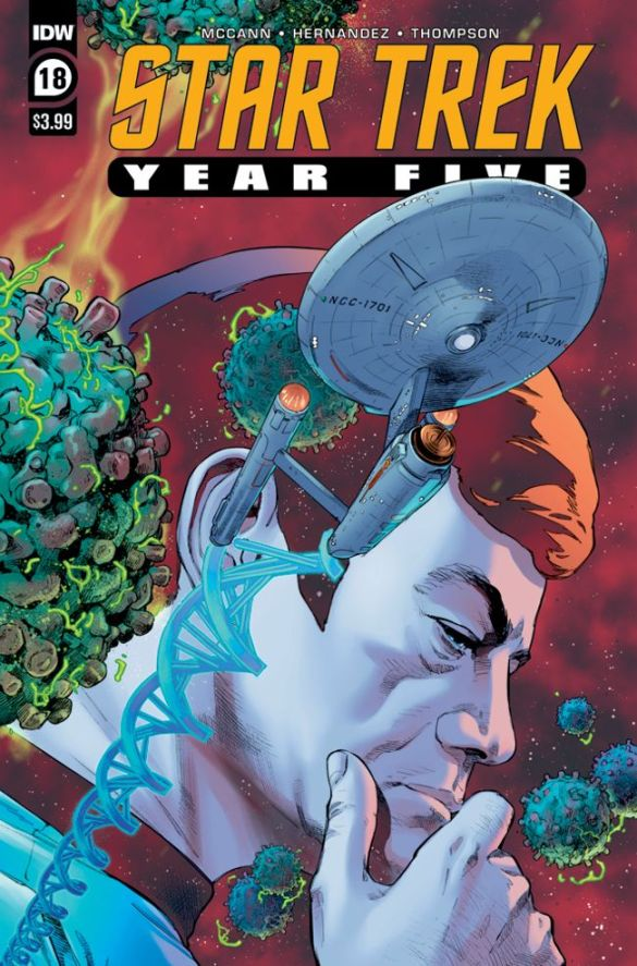 ST_YearFive18-cover IDW Publishing December 2020 Solicitations
