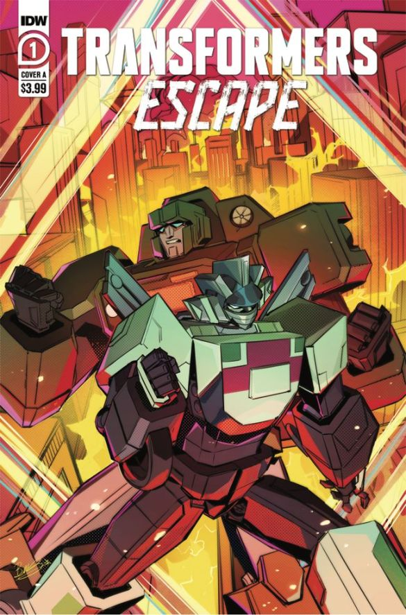 TFEscape-Cover-A IDW Publishing December 2020 Solicitations