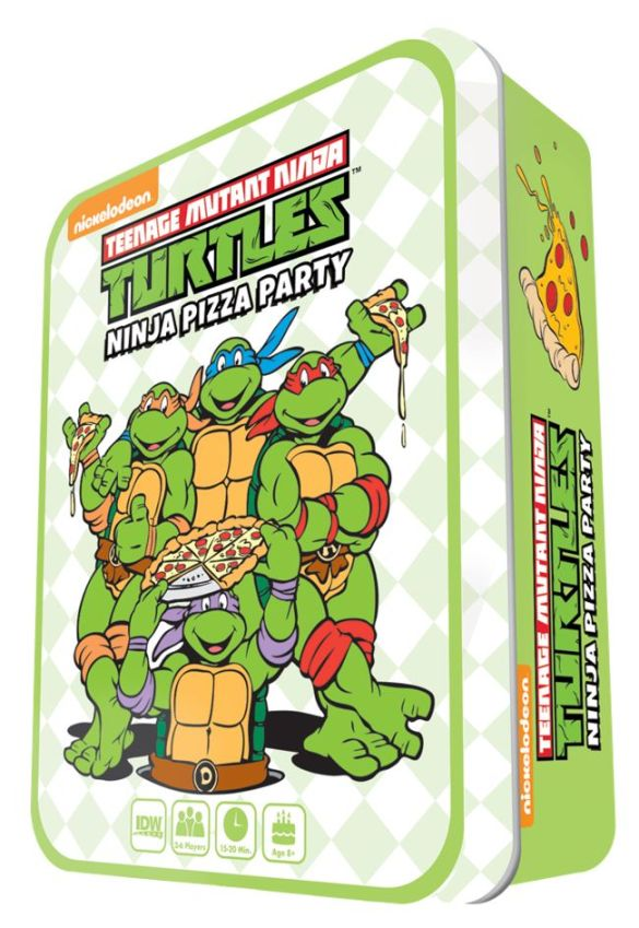 TMNT_Pizza_Mock IDW Publishing December 2020 Solicitations