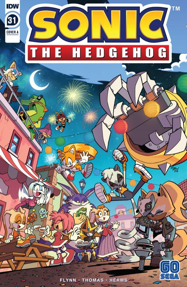 Comiclist Previews Sonic The Hedgehog 31 Gocollect
